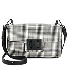 Steve Madden Brit Plaid Crossbody