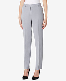 Tahari ASL Straight-Leg Pants