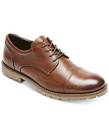 Rockport Men's Channer Cap-Toe Bluchers