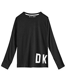 DKNY Big Girls Logo Graphic Shirt