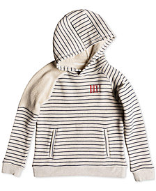 Roxy Big Girls Striped Cotton Hoodie