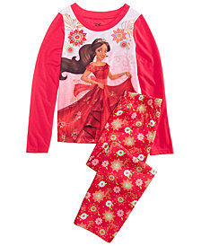 AME Little & Big Girls 2-Pc. Elena of Avalor Pajama Set