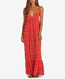 Billabong Juniors' Flamed Out Printed Maxi Dress