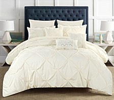 Hannah 10 Piece Queen Comforter Set