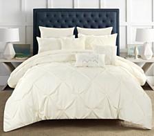 Chic Home Hannah 10 Piece Queen Comforter Set