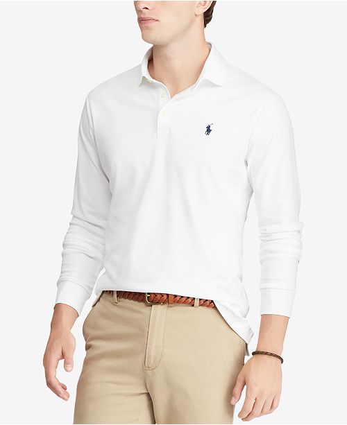 Polo Ralph Lauren Men's Classic Fit Soft-Touch Polo, Created for Macy's