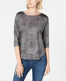 I.N.C. Knit Top, Created for Macy's