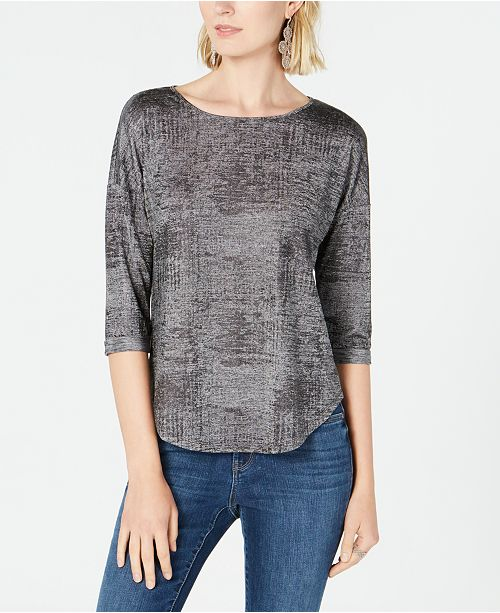 INC International Concepts INC Knit Top, Created for Macy's