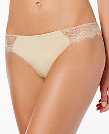 Wink Worthy Lace-Sides Thong 976221