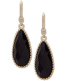 Ivanka Trump Gold-Tone Stone Drop Earrings