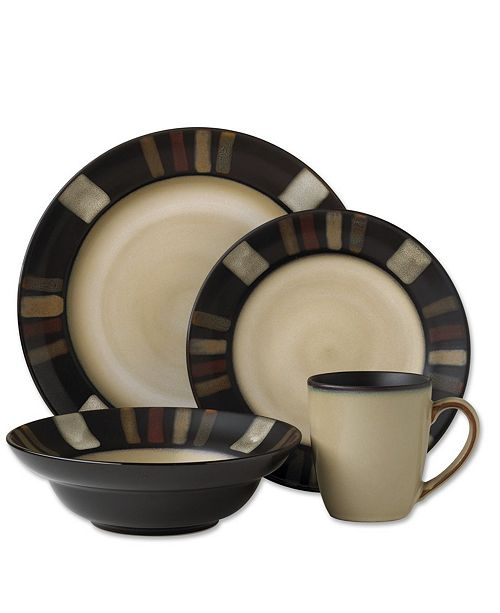 Pfaltzgraff Tahoe 16-Pc. Dinnerware Set