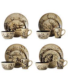 Mikasa Mossy Oak 16-Piece Dinnerware Set