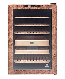 Vinotemp Wood Finish Cigar Humidor