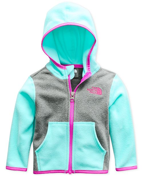 d4f02c223 The North Face Baby Girls Glacier Zip-Up Hoodie & Reviews - Coats ...