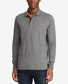 Polo Ralph Lauren Men's Long Sleeve Cotton Classic Fit Polo