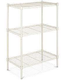Sierra 3-Tier Mini Wire Shelves, Quick Ship