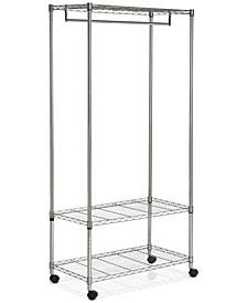 Gordan Chrome Wire 3-Tier Garment Rack