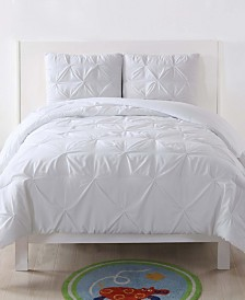 My World Pleated Full/Queen Duvet Set