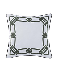 "Oceanfront Resort Sunwashed Isle 20"" Square Decorative Pillow"