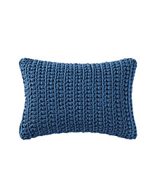 "Brooklyn Loom Chambray Loft 14"" x 22"" Decorative Pillow"