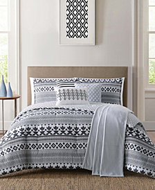 Jennifer Adams Cardiff Full/Queen 7Pc Comforter Set
