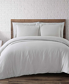 Brooklyn Loom Flax Linen Full/Queen Duvet Set