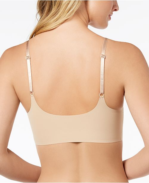 0b3b01f429 Calvin Klein Invisibles Comfort Lightly Lined Retro Bralette QF4783 ...