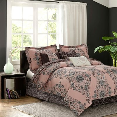 Bardot Blush 7-piece Comforter Set, Queen