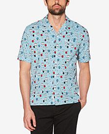 Original Penguin Men's Bowling Printed Shirt