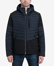 Men's Hector Mixed-Media Down Fill Stretch Jacket