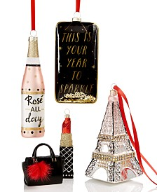 Holiday Lane Fashion Week Ornament Collection, Created for Macy's