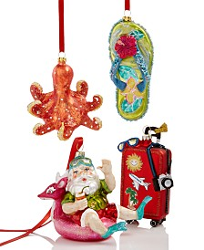 Holiday Lane Coastal-Themed Ornament Collection, Created for Macy's