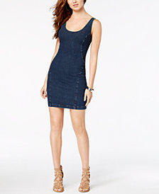 GUESS Sofia Sleeveless Denim Dress