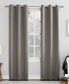 """Sun Zero Preston 40"""" x 84"""" Blackout Grommet Curtain Panel"""