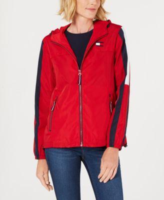Colorblock Raincoat