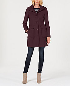 Tommy Hilfiger Single-Breasted Walker Coat