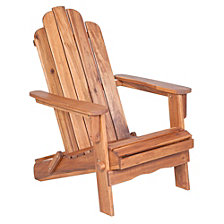 Acacia Adirondack Chair - Brown