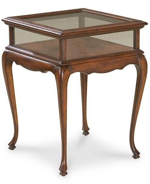 Butler Burton Curio Table