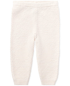 Ralph Lauren Baby Girls Cotton Pull-On Pants