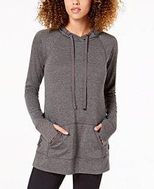 Ideology Lace-Up Sides Hoodie, Created for Macy's
