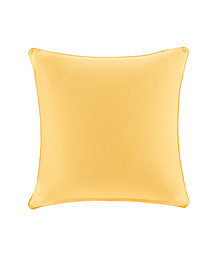 "Madison Park Pacifica 20"" x 20"" Solid 3M Scotchgard Outdoor Square Pillow"