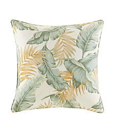 "Madison Park Coco 20"" x 20"" Printed Leaf 3M Scotchgard Outdoor Square Pillow"