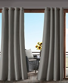 """Madison Park Pacifica 54"""" x 108"""" Grommets Solid 3M Scotchgard Outdoor Panel"""