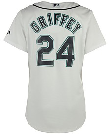 Majestic Women's Ken Griffey Jr. Seattle Mariners Cool Base Player Replica Jersey