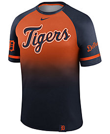 Nike Men's Detroit Tigers Dri-Fit Sublimated Raglan T-shirt