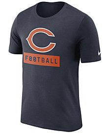Nike Men's Chicago Bears Legend Football Equipment T-Shirt