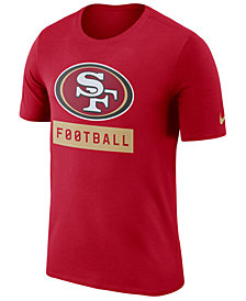 Nike Men's San Francisco 49ers Legend Football Equipment T-Shirt