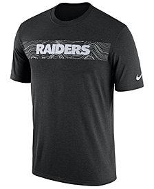 Nike Men's Oakland Raiders Legend On-Field Seismic T-Shirt