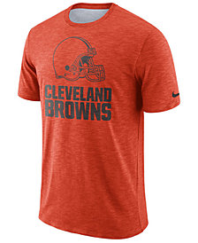 Nike Men's Cleveland Browns Dri-Fit Cotton Slub On-Field T-Shirt