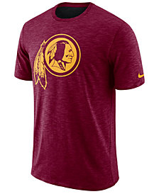Nike Men's Washington Redskins Dri-Fit Cotton Slub On-Field T-Shirt